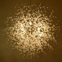 Современный минималистский Одуванчик люстра гостиной спальня магазин одежды звезды люстры ресторан кафе светодиодный свет светодиодный л
