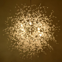 Modern minimalist dandelion chandelier living room bedroom clothing store stars chandeliers restaurant cafe LED lights led lamps(China)