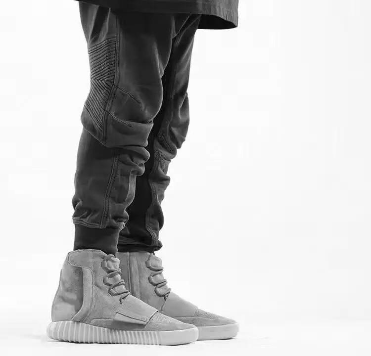 Kanye West Season 6 Style Men Soild Slim Jogger Pants Sweatpants Hiphop Streetwear Men Casual Outwear Pants Joggers