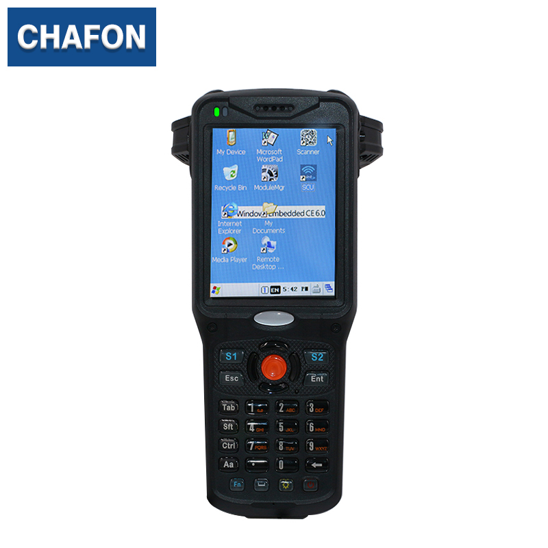 uhf rfid handheld reader with wifi bluetooth 1D barcode for warehouse management effective warehouse management
