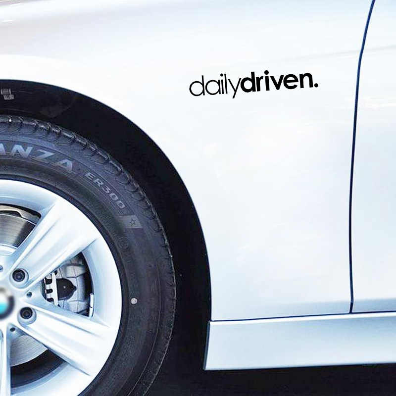 QYPF, 16,3 CM x 3,3 CM, pegatina de vinilo de estilo divertido de uso diario para coche, pegatina negra plateada para coche, accesorios para motocicleta, C15-2077