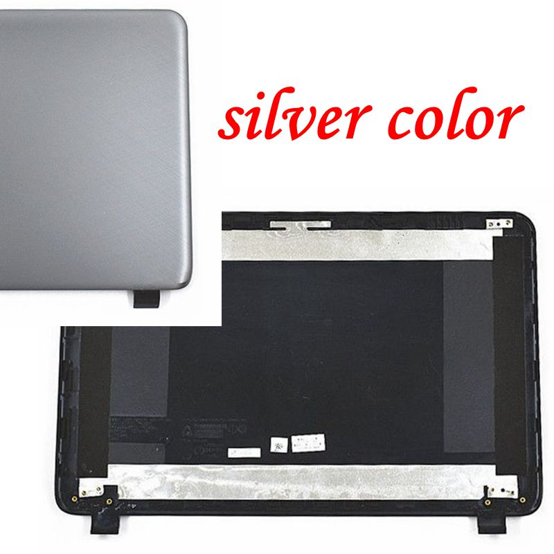 """YALUZU new LCD Back Rear Cover Top For HP 250 255 G3 15-G 15-R 15-H 15Z-G 760967-001 15-G001XX 15-G010DX 15.6"""" silver grey color"""