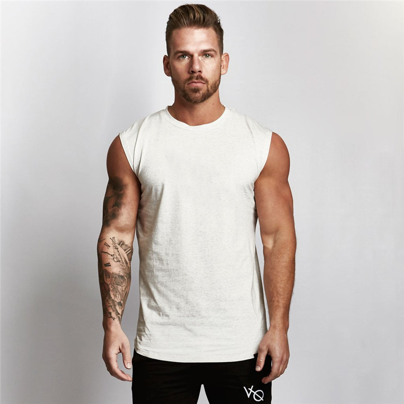 Hot 2018 summer fitness clothing Golds   tank     top   men gyms   tank     top   Brand men's sleeveless fitness   top     tank   men's sportswear   tops