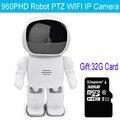 960 P HD MINI Câmera IP Câmera de Rede De Gravação De Áudio Baby Monitor de Visão Robô WI-FI Câmera Pan-Tilt Home Security Câmera IP