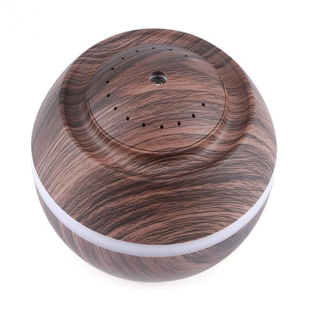 Aromatherapy Wood USB Oil Humidifier