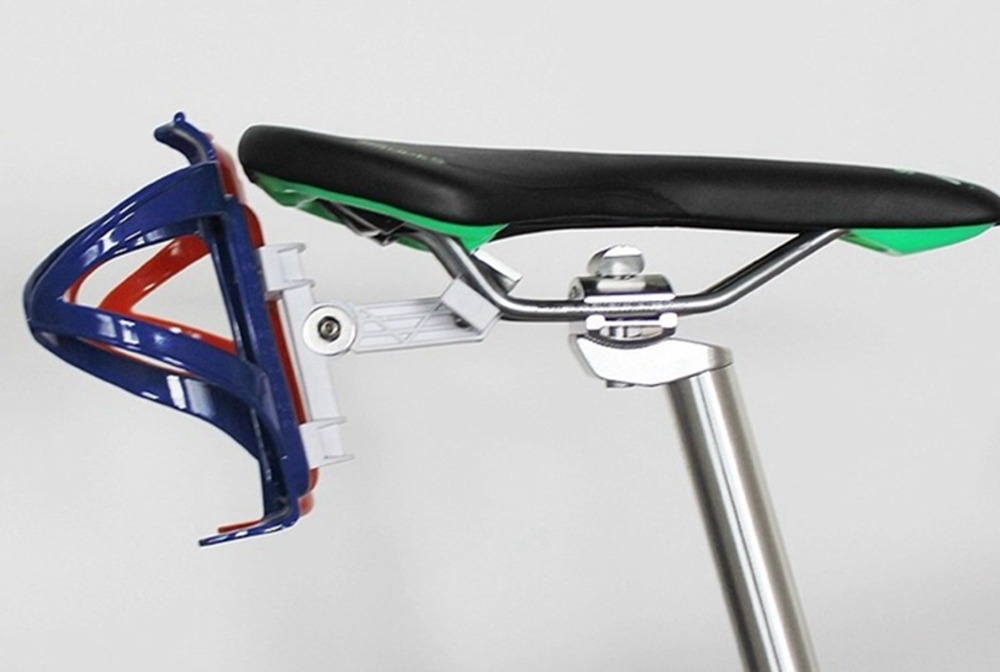 Bicycle double water bottle saddle holder adapter for bottle adaptador para  garrafa suporte caramanhola-in Bicycle Rack from Sports   Entertainment on  ... 81d7e6efa731b