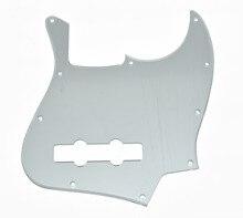 KAISH Silver Mirror JB Jazz/J Bass Pick Guard Scratch Plate with Screws