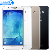 "Original Unlocked Samsung Galaxy A8 A8000 Octa Core 4G LTE Mobile Phone 2G RAM 16G ROM 16.0MP Camera 5.7"" Smartphone"