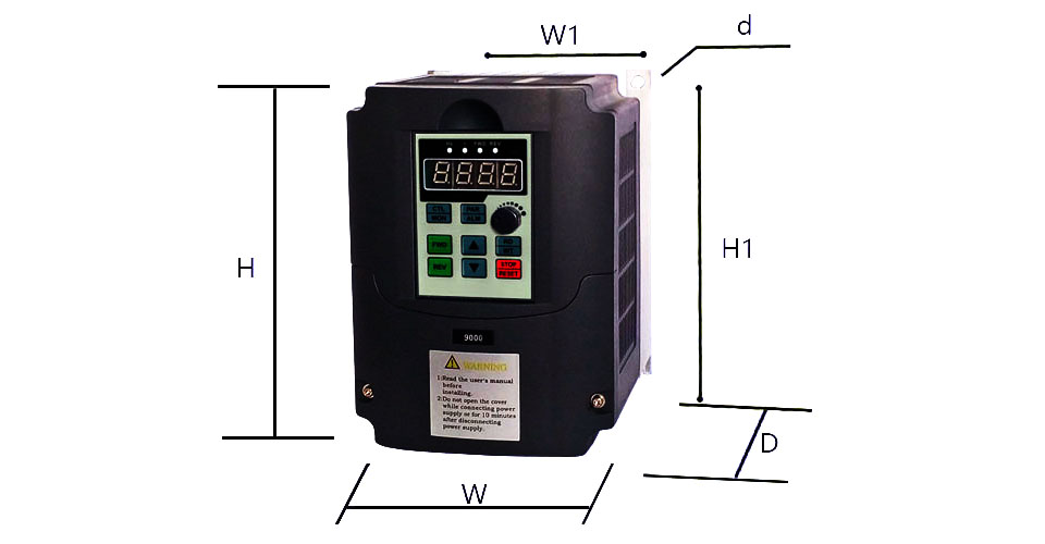 FOR RUSSIAN !CNC Spindle motor speed control 220v 2.2kw Variable ...