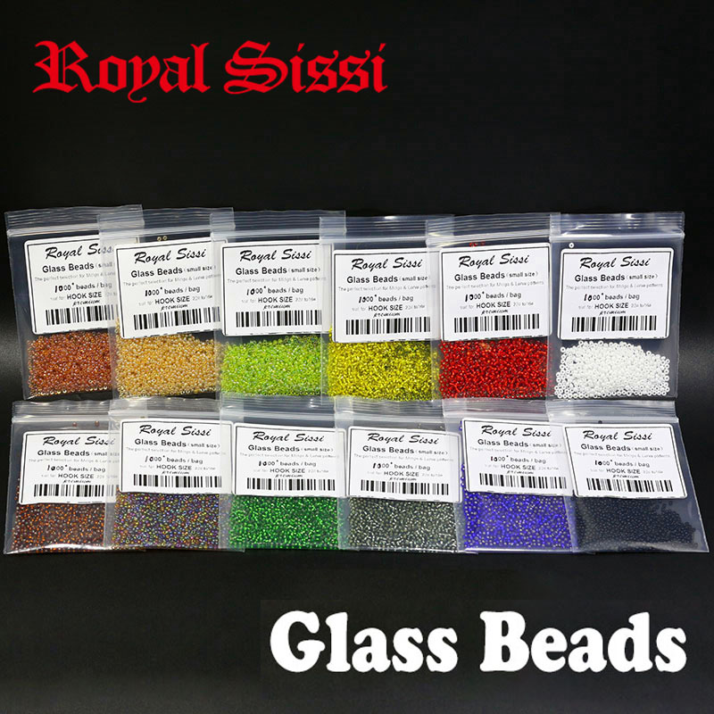 hot 3 sizes fly tying glass beads 12colors complete set small&medium&large size fly fishing fly tying beads for rainbow warriors