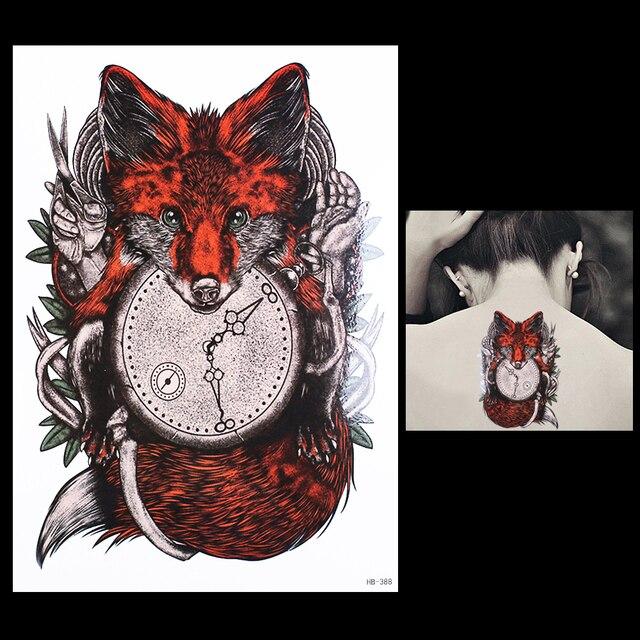 1 Hoja Tatuaje Pegatina Para Mujeres Hombres Cuerpo Brazo Arte Hb388