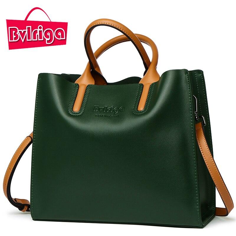... BVLRIGA Genuine leather bag famous brands women messenger bags women  handbags designer high quality women bag shoulder bag tote. 50% Off. 🔍  Previous d21a9f81f46bf