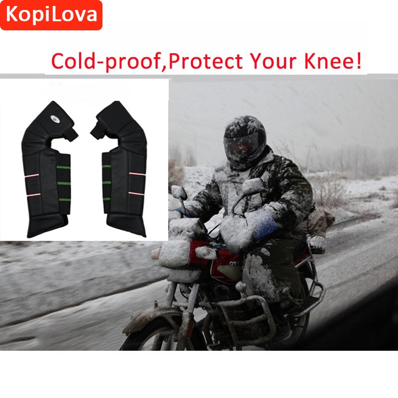 KopiLova Winter Cold-proof Kneepads Legs Cover Boots Protector Knee Protective Guard Outdoor Motorcycle Kneepad Free Shipping