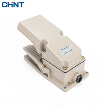 CHINT Foot Switch Lathe Punch Machine Tool Machine Use Pedal YBLT-4 Pedal Switch Bring Protect Shield цена и фото