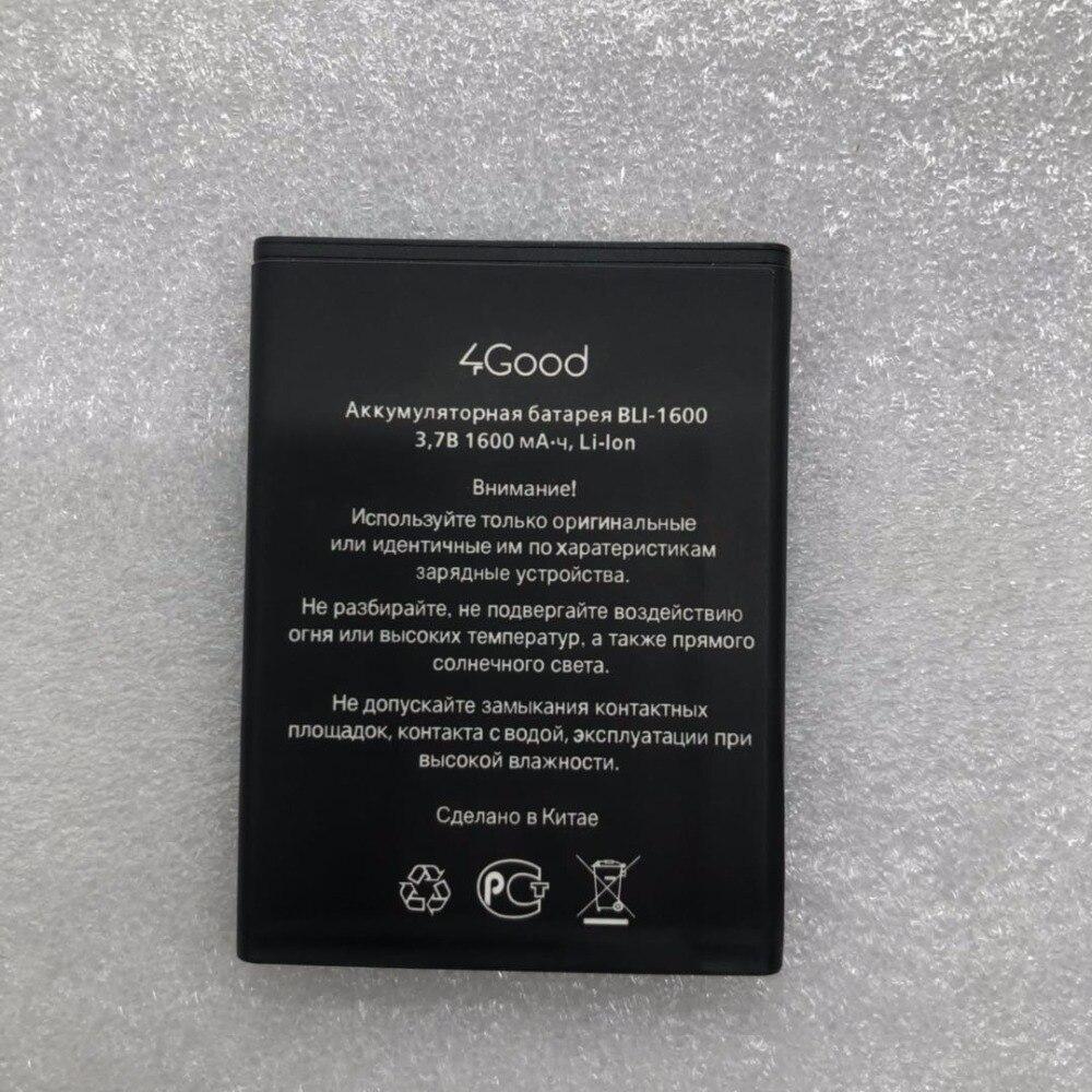 2018 NEUE handy Für 4 Gute batterien S450m BLI-1600 batterien (S450M) 1600 mAh batterie