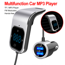 Hot Sale FM Transmitter Bluetooth Car Wireless Radio AUX MP3 Player Modulator Hands-Free Calling