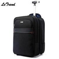 Рюкзак для путешествий интерната, съемный багаж, деловая многофункциональная USB Большая вместительная компьютерная Дорожная сумка на коле