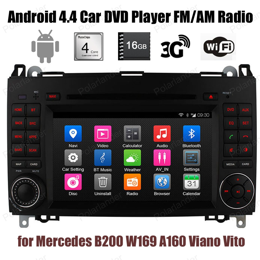 Android4 4 Car DVD Support DTV BT 3G WiFi GPS DAB font b TPMS b font