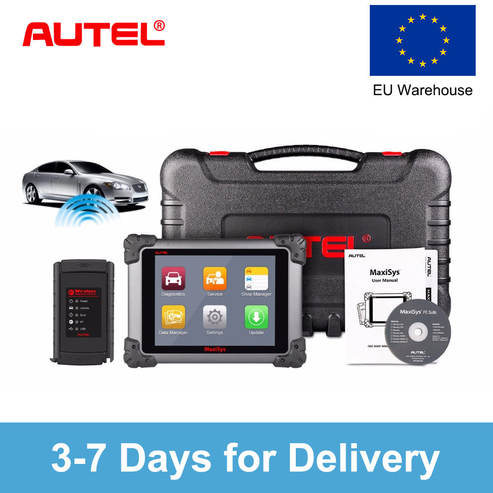 US $1598 0 30% OFF Autel MaxiSys MS908 OBD2 Auto Scanner Diagnostic Tool  Car Diagnostic Scanner Eobd Automotivo Scanner For Renault Opel Volvo  BMW-in
