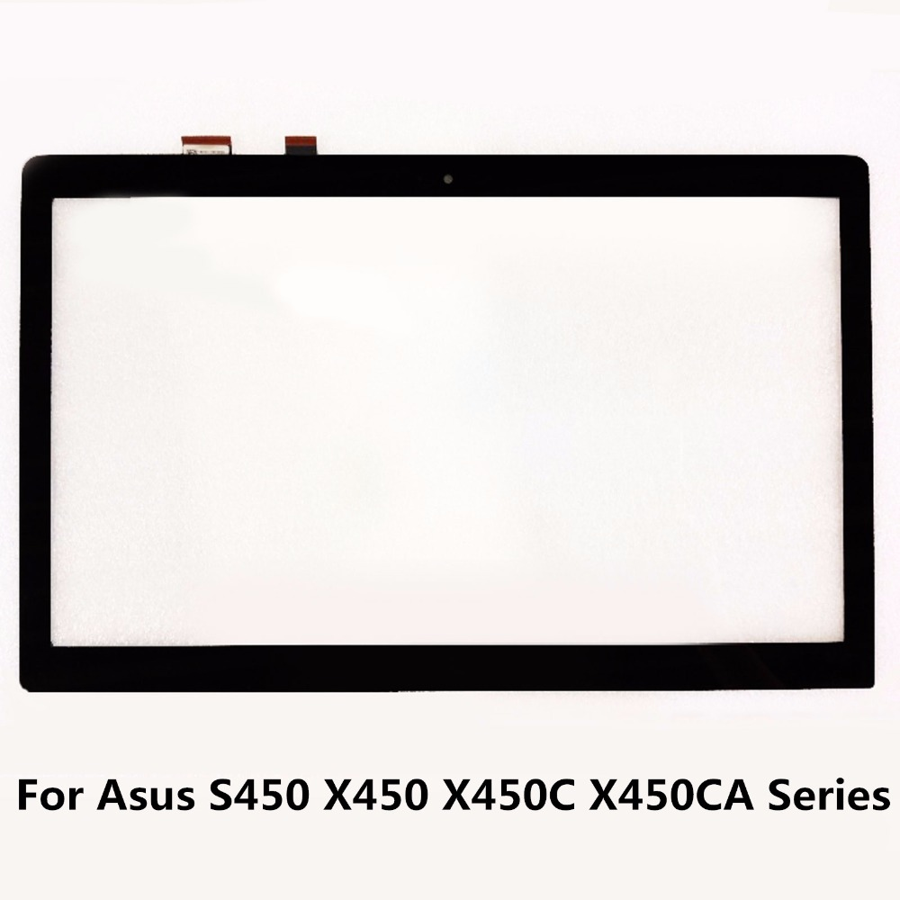 14 For Asus S450 X450 X450C X450CA X450V X450VC Series 5418R FPC-1 Touch Digitizer Glass Panel Screen Sensor Replacement Parts 15 6 inch touch screen panel digitizer sensor glass replacement for asus q504 q504u q504ua series q504ua bhi7t21 q504ua bhi5t13