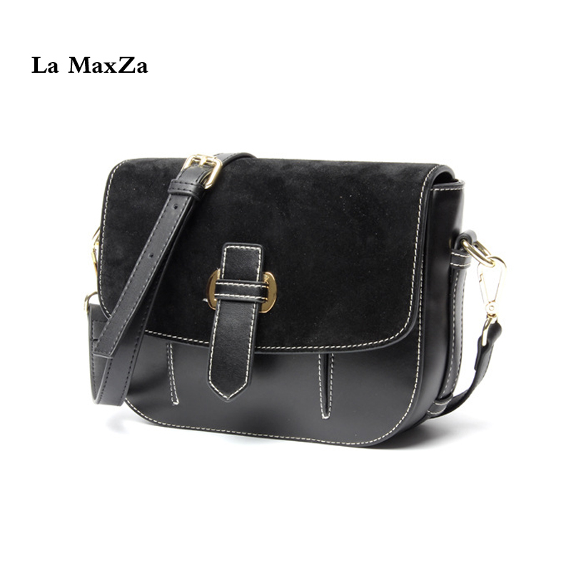 La MaxZa Messenger Bag Womens Top Cow Leather Crossbody Bags Fashion Split Cow Leather Handbag Women Ladies Tote Shoulder Bag women handbag shoulder bag messenger bag casual colorful canvas crossbody bags for girl student waterproof nylon laptop tote