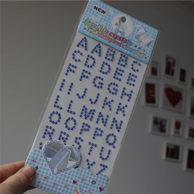 Acquista all'ingrosso Online Lettere di strass adesivi da ...