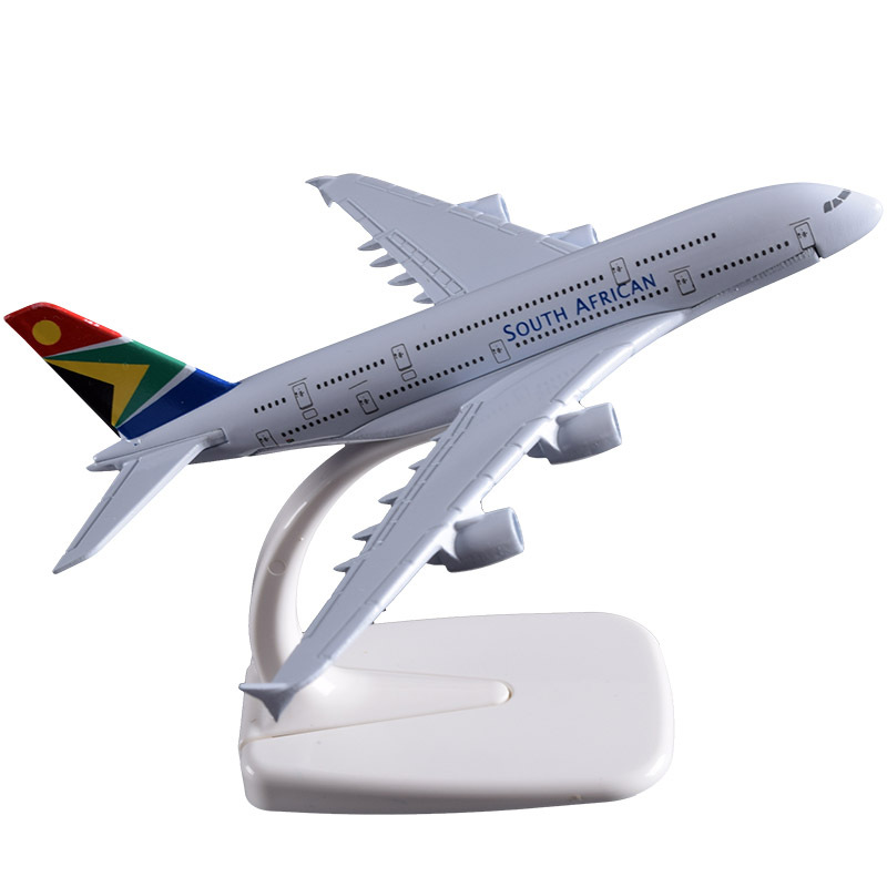 16 Cm A330 Airbus Modell Südafrikanischen Airlines Metall Aviation Flugzeug Metall Flugzeug Modell A330 Erwachsene Kinder Spielzeug Sammlung