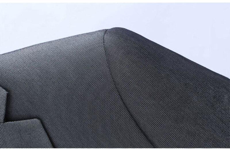 Костюм homme 2017 новый мужской костюм с брюками партия серый blazer куртка человек терно masculino мужские костюмы свадебные жених