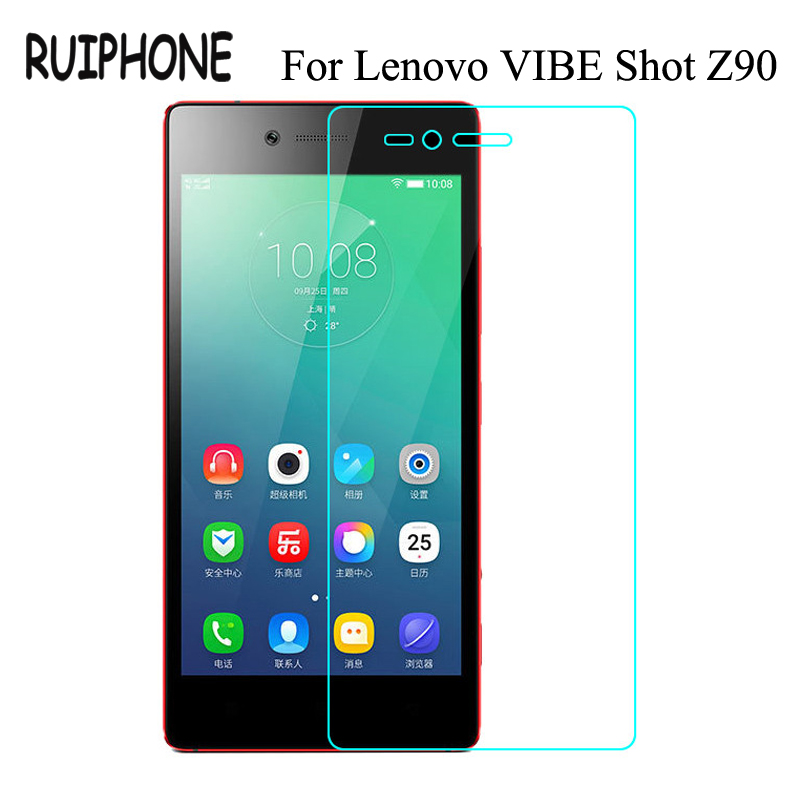 For Lenovo VIBE Shot Z90 3 7 Tempered Glass Film 9H 0.26MM Original Screen Protector For Vibeshot Z 90 Z90-3 Z90-7 Dual Sim Lte