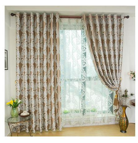 Online Shop Kuwait Double Faced Soft Modern Quality Home Jacquard Thickening Full Dodechedron Drapes Curtain For Living Room Ffree Shipping