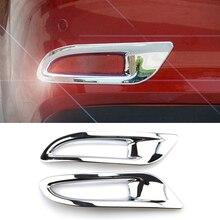 Для Mazda 6 Atenza M6 GJ хромированный отражатель заднего бампера, противотуманный светильник, противотуманный светильник, накладка, Формовочная рамка