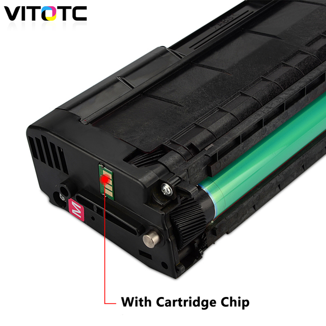 Color Toner Cartridge Compatible For Ricoh Aficio SP C220S C221SF C222DN C240DN C240SF SPC220 222 SPC240 Laser Copier Refillable