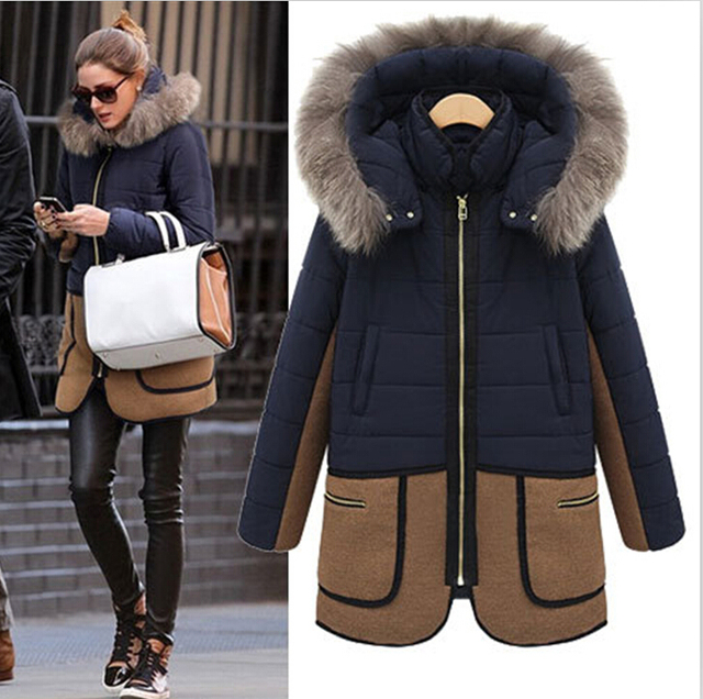 Aliexpress.com : Buy 2016 Plus Size Cotton Down Jacket Women
