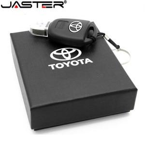 Image 2 - JASTER Car Key Model Creative fashion gift  USB Flash drive pen drive memory stick usb 2.0 64GB 32GB 16GB 8GB memory U disk