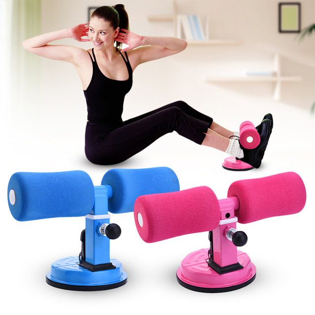 Women men sit up exerciser strong suction home gym fitness