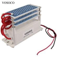 Генератор озона 220 в 15 Гц/ч, домашний очиститель воздуха, озонатор, озонатор, очиститель воздуха, 3 слоя озона, озонатор, стерилизация, 110 В