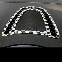 hot for mini cooper f60 countryman interior trim carbon fiber gear shift control panel cover sticker car styling accessories Interior Instrument Panel Center Decor Air Condition Vent Outlet USB Input Cover Trim for MINI Cooper Countryman F60 Car Styling