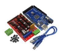 Free Shipping 3D Printer Mega 2560 R3 Mega2560 REV3 RAMPS 1 4 Controller For Arduino Diy