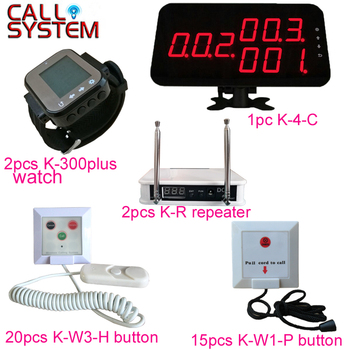 Ycall Patient Service Call Transmitter Wireless Nurse Calling System for Hospital Clinic