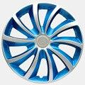 OHANEE 14 polegada de ferro carro tampas de roda Calota universal caso fit para ford para mercedes tampa do Cubo auto acessórios reequipamento (4 pcs)