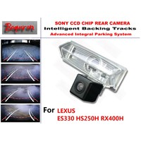 for LEXUS ES330 HS250H RX400H CCD Car Backup Parking Camera Intelligent Tracks Dynamic Guidance Rear View Camera