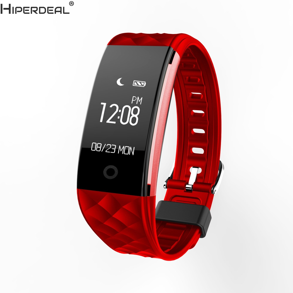 HIPERDEAL S2 Bluetooth 4.0 Smart Wristband Band Heart Rate Monitor Sport LED SmartwatchHIPERDEAL S2 Bluetooth 4.0 Smart Wristband Band Heart Rate Monitor Sport LED Smartwatch