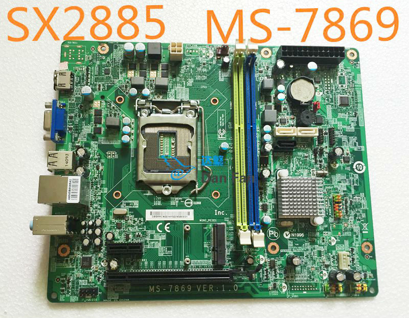 MS-7869 For ACER TC-605 TC-705 SX2885 Desktop Motherboard LGA1150 Mainboard 100%tested Fully Work