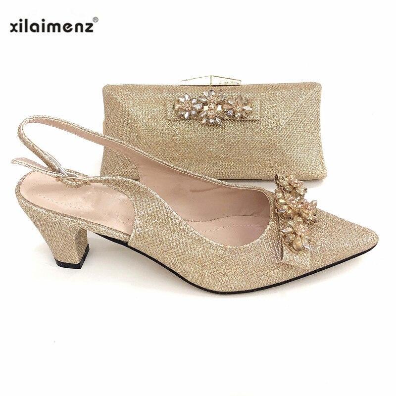 Sets pink Mit silver Afrikanische Rosa Neue Black Schuhe Tasche Hohe Qualität Italienische Farbe gold Passenden Königlichen red 2019 Und Partei Taschen Für f41Pwxn0Hq
