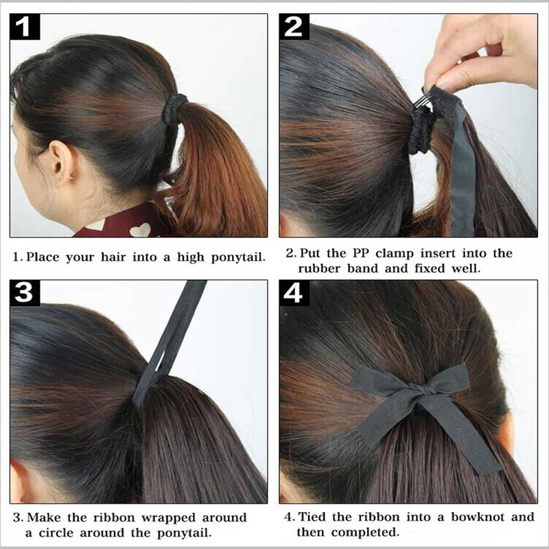 Aisi Beauty Long Water Wavy Style Drawstring Ponytail Extensions For