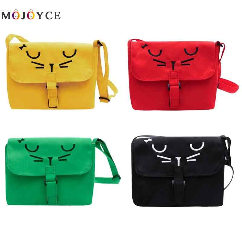 ... Kids Cute Cartoon Casual Canvas Messenger Bags Children Mini Shoulder  Bags Child Girls Crossboday Bag ... 26863f8f08dc3