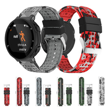 Silicone Replacement Watch Strap Wrist band Strap for Garmin Forerunner 230 235 220 620 630 735 Smart Watch Smart Accessories 21mm soft silicone strap replacement watch bands tools lugs adapters for garmin forerunner 230 235 220 watch watch accessories