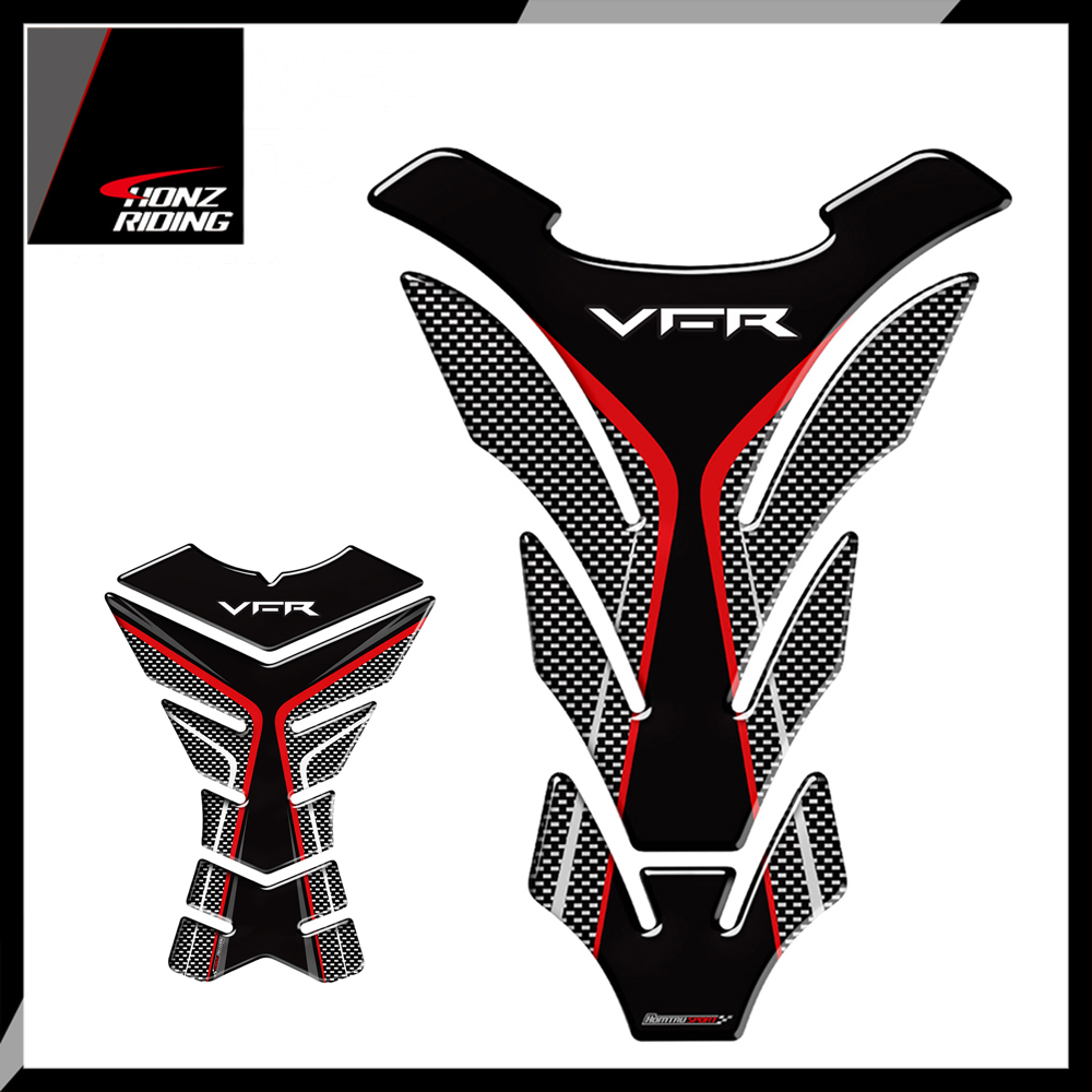 For Honda VFR 800 800F 800X 1200 1200F 1200X 400 Tankpad 3D Motorcycle Tank Pad Protector Decal Stickers