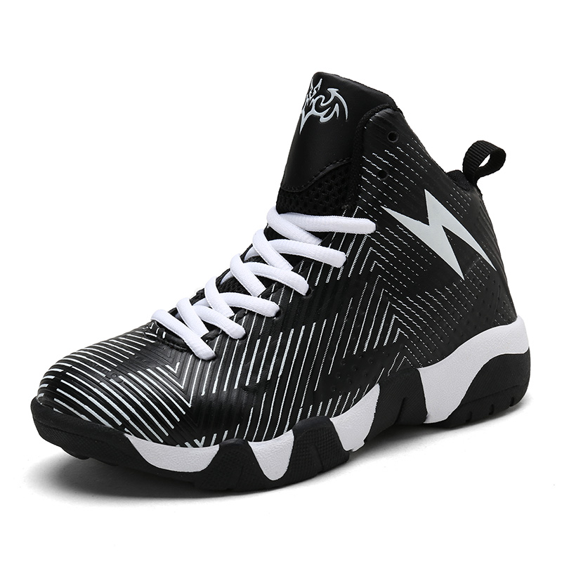 tout neuf 57caf 37243 US $20.0 41% OFF|Man Boys Basketball Shoes 2018 HighTop Quality Running  Walking Chaussure Basket Enfant Outdoor Kids Sneakers jordan Sport Shoes-in  ...