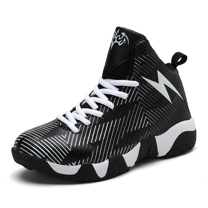 Detail Feedback Questions about Man Boys Basketball Shoes 2018 HighTop  Quality Running Walking Chaussure Basket Enfant Outdoor Kids Sneakers jordan  Sport ... 80d6cddc6